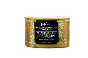 Barra para Massagem Corporal Sensual Flowers