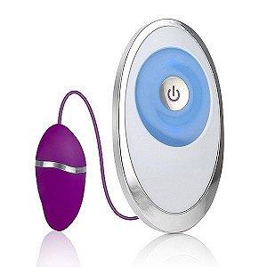 Vibrador Egg Touch - 20 modos de vibração - LED