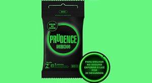 Preservativo Neon - Prudence - com 3 unidades