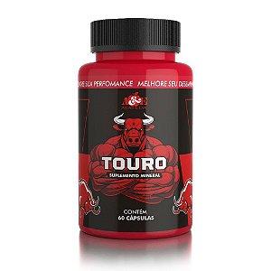 Touro - Suplemento Mineral Energético para Homens - 60 Drágeas