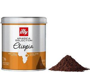 Café illy moído Arabica Selection Etiópia- 125g