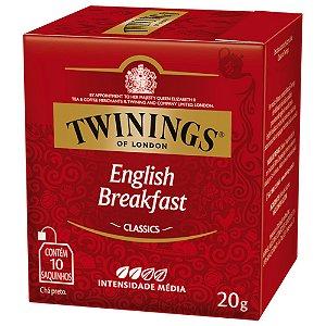 Chá Preto English Breakfast Twinings - 20g / 10 sachês