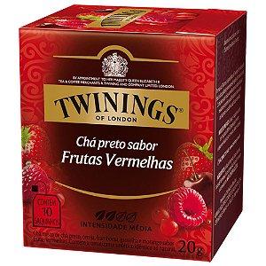 Chá Preto Sabor Frutas Vermelhas Twinings - 20g / 10 sachês