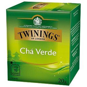 Chá Verde Twinings - 20g / 10 sachês