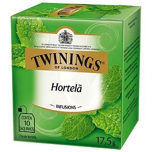 Chá de Hortelã Twinings - 17,5g / 10 sachês
