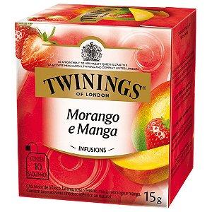 Chá de Morango e Manga Twinings - 15g / 10 sachês