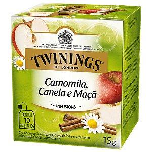 Chá de Camomila, Canela e Maçã Twinings - 15g / 10 sachês