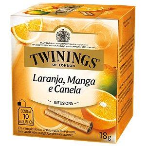 Chá de Laranja, Manga e Canela Twinings - 18g / 10 sachês