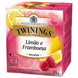 Chá de Limão e Framboesa Twinings - 15g / 10 sachês