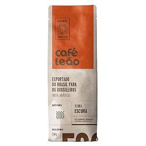 Café Torrado e Moído Leão - Torra Media - 250g