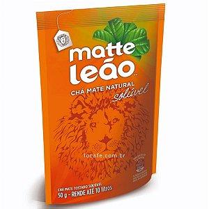 Matte Leão - Chá mate natural solúvel 50g Rende até 10 litros