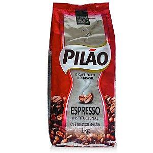 Café Torrado em Grãos Expresso 1Kg - Pilão Espresso Inst