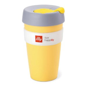 Keep Cup Illy Amarelo - 454ml