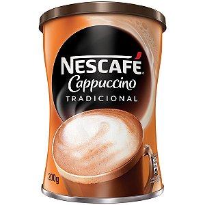 Nescafé Nestlé Cappuccino Tradicional - Lata 200g