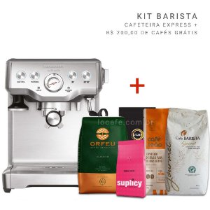 Kit Cafeteira Express Tramontina by Breville - 127v