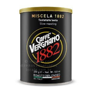 Café Torrado e Moído Vergnano - Blend 1882 - 250g