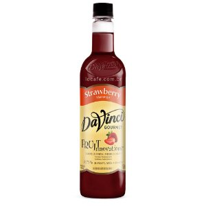 Xarope Davinci Gourmet Strawberry (Morango) – 750ml