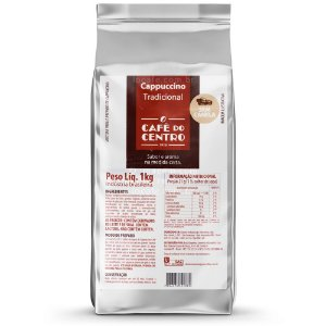 Cappuccino Solúvel sem Canela 1kg - Café Do Centro