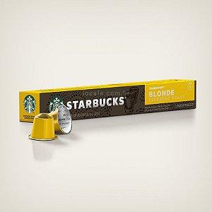 Café Starbucks® Blonde Espresso Roast (Torra clara) em Cápsulas - 10Ud