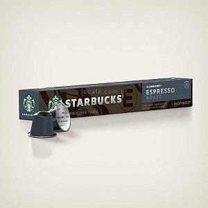 Café Starbucks® Espresso Roast em Cápsulas - 10Ud