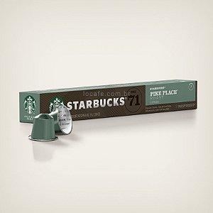 Café Starbucks® Pike Place® Roast em Cápsulas - 10Ud