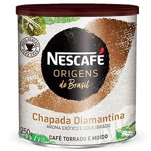 Nescafé Origens do Brasil Chapada Diamantina  - Torrado e Moído 250g