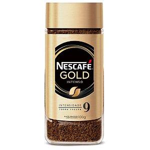 Nescafé Solúvel Gold Espresso Intensidade 9 - 100g