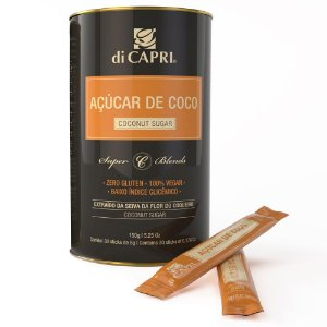 Açúcar de coco di Capri - Sticks 5g - 30 un