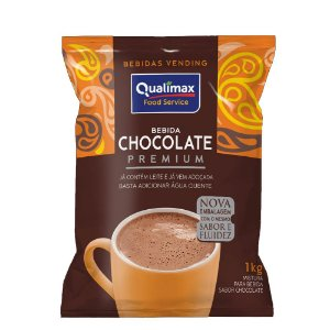 Chocolate Premium Solúvel Vending 1Kg - Qualimax