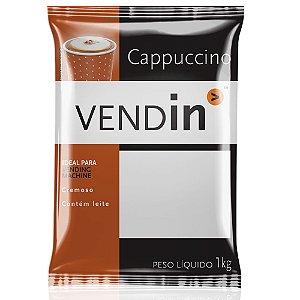Cappuccino Sabor Canela Solúvel Vendin - 1kg