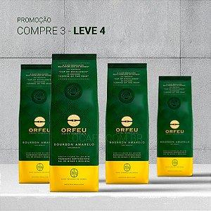 PROMOÇÃO 4 Café em Grãos Orfeu Bourbon Amarelo - 250g