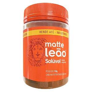 Matte Leão - Chá mate natural solúvel 50g em pote