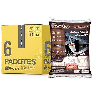 Achocolatado Vending Chocofans 7,8KG (6 x 1,3Kg) - Nestlé