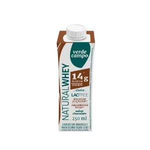 Shake Natural Whey Verde Campo - Chocolate (14g de proteína) 250ml