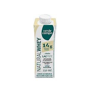 Shake Natural Whey Verde Campo - Baunilha (14g de proteína) 250ml