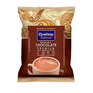 Bebida Chocolate Premium - Zero adição de açúcar 1Kg - Qualimax