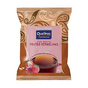 Chá Preto Solúvel e Frutas Vermelhas Vending 1Kg - Qualimax