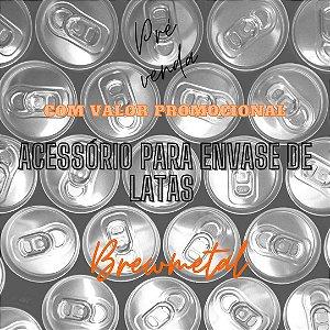 Acessório para envase de latas Brewmetal