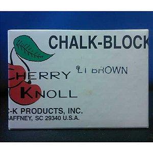 GIZ CHALK BLOCK MARROM CLARO