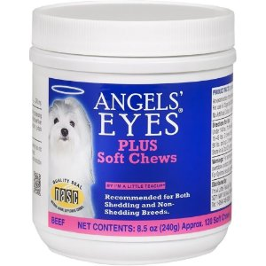 ANGEL EYES MASTIGÁVEL PLUS 240G C/ APROX. 120 PETISCOS CARNE