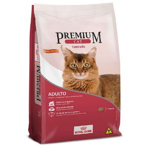 RAÇÃO ROYAL CANIN PREMIUM CAT ADULTO CASTRADO 1KG