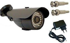 Câmera segurança infravermelho ahd perfeita para DVR stand alone com alta qualidade de imagens tanto de dia e a noite