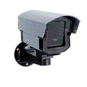 Caixa proteção em alumonio media ideal para micros cameras
