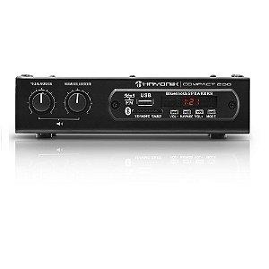 Amplificador Hayonik Compact 200 Bluetooth USB 20W