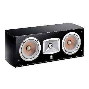 Caixa Acústica Yamaha NS-C444 Central 2-vias Preta