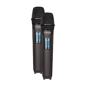 Microfone Sem Fio Duplo Tag Sound Tagima TMJ-800 UHF