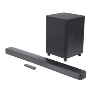 "Soundbar JBL Bar 5.1 Surround com Subwoofer Wireless 10"" 325W RMS Bivolt"