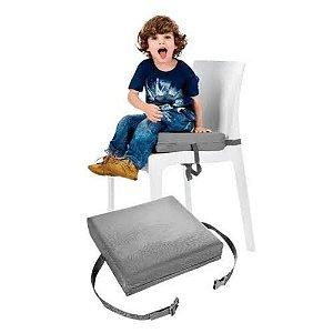 Almofada de Elevação para Cadeira Cinza