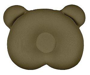 Almofada Ergonômica para cabeça Urso Marrom