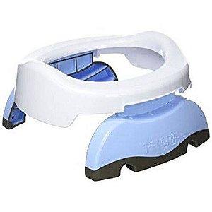 Assento Portátil Infantil Adaptável Potette 2 em 1 Azul